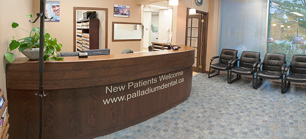 Palladium Dental front desk