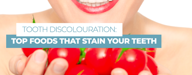 palladium dental - tooth discolouration - top foods that stain your teeth - how to remove stains from teeth